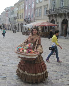 Plenty of beauty to atract the tourists in L'Viv!